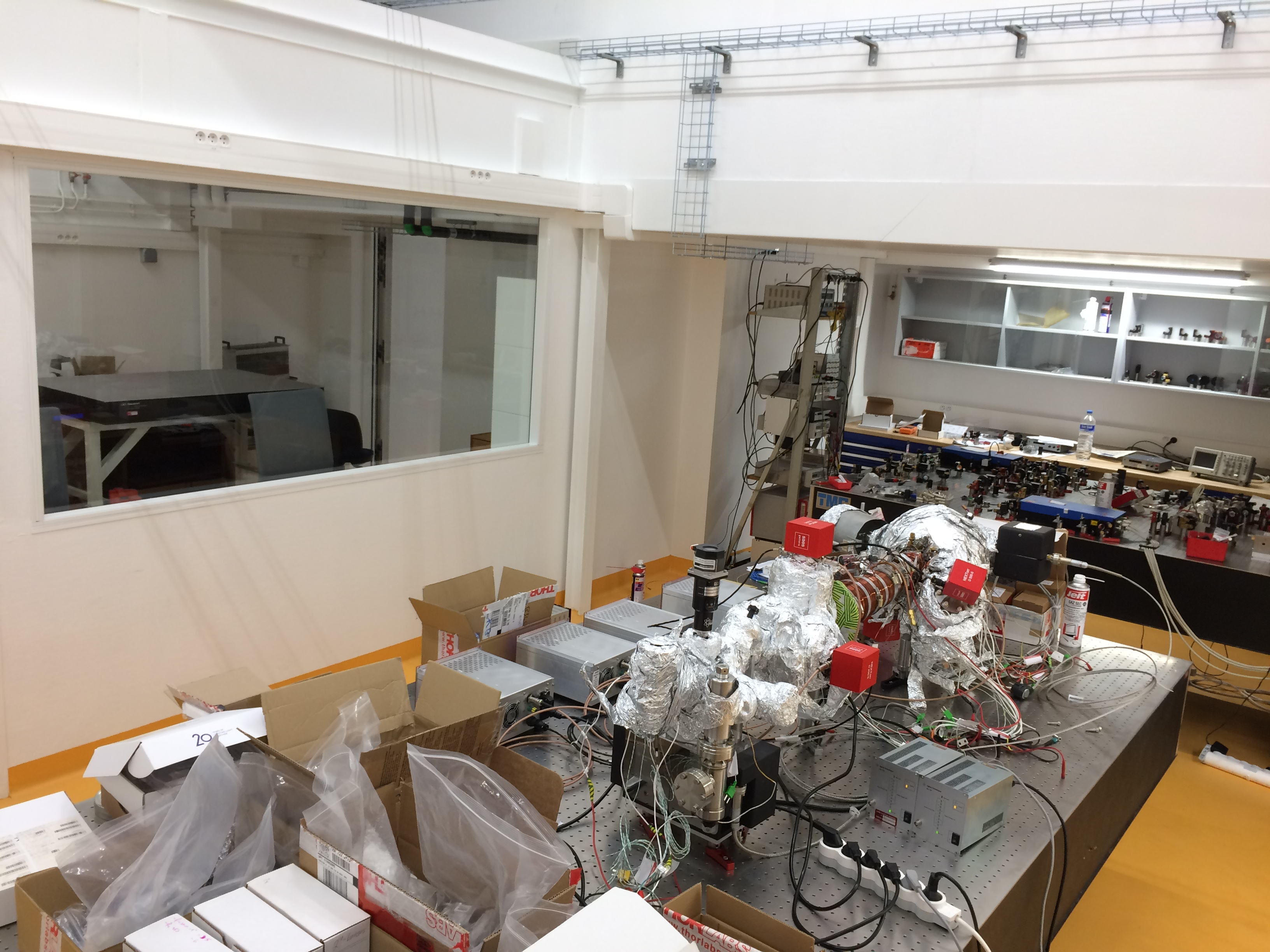 Moving into the new lab
